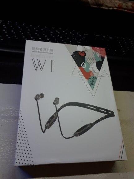 Lewinner W1 Neckband Bluetooth Earphone with Mic IPX5 Waterproof Sports Wireless Headphone Bluetooth for phone iPhone xiaomi|Bluetooth Earphones & Headphones|   - AliExpress