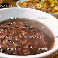 黑豆紫米红枣糯米红豆粥的做法图解7