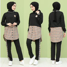 Garnish turkey Track Suits 2 Piece Bottom Top Muslim headscarf Dubai Women's Fashion Trends arabia 100% Made in Turkey New Seaso