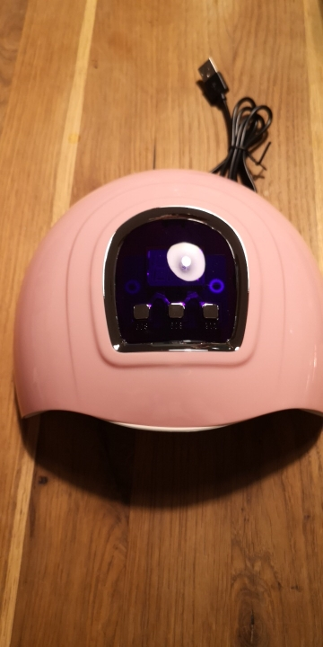 Nail Set Kit UV LED Lamp Dryer With 6/12 Colors photo review