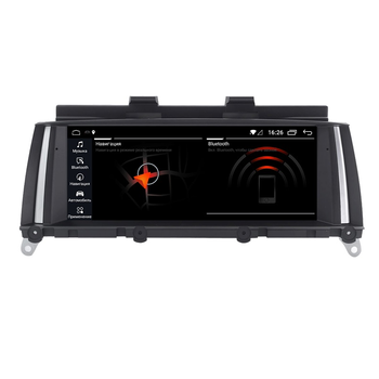 Radio tape recorder for BMW X3 F25, F26 2011-2013 CIC