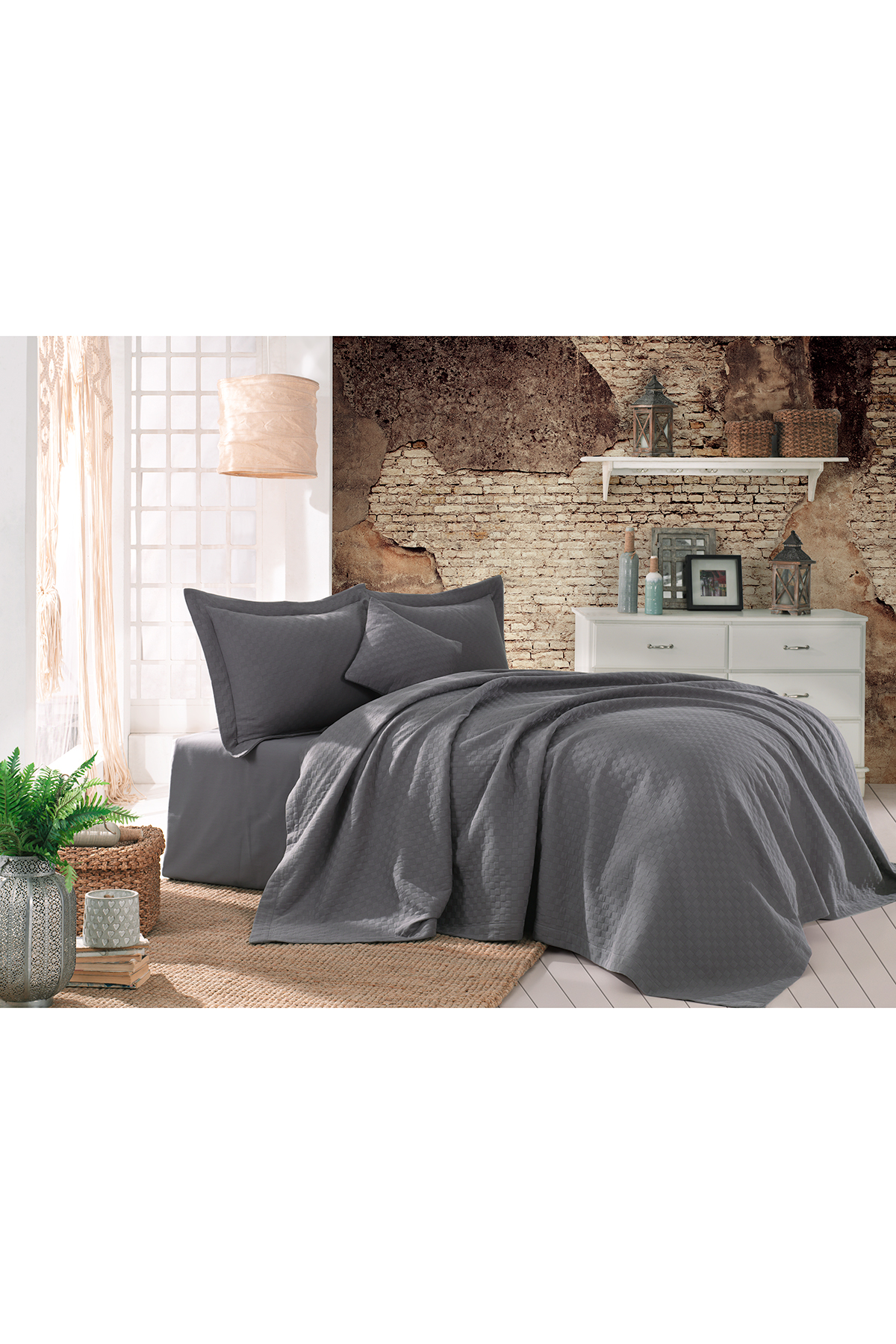 Jua Plaid Bedcover 240x260 cm