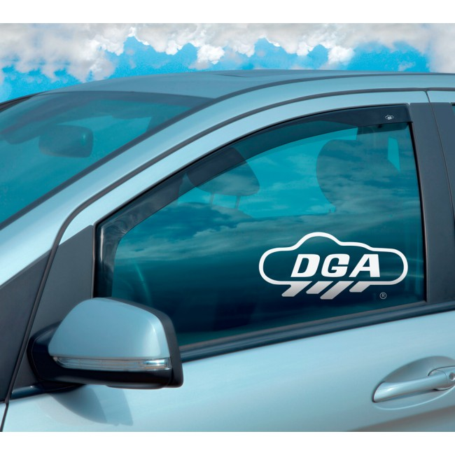 Deflectors for KIA RIO from 2011 2017 Side Window Sunshades     - title=
