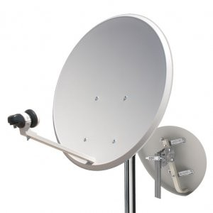 60 Cm OFFSET Satellite Dish FE Tecalel