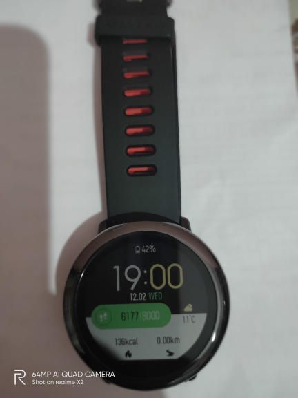 NEW Amazfit Pace Smartwatch Amazfit Smart Watch Bluetooth Music GPS Information Push Heart Rate For Android phone redmi 7 IOS|Smart Watches|   - AliExpress