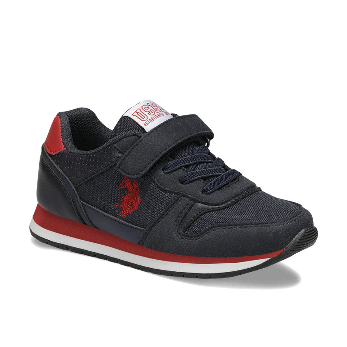 FLO GAGA Navy Blue Male Child Running Shoes U.S. POLO ASSN.