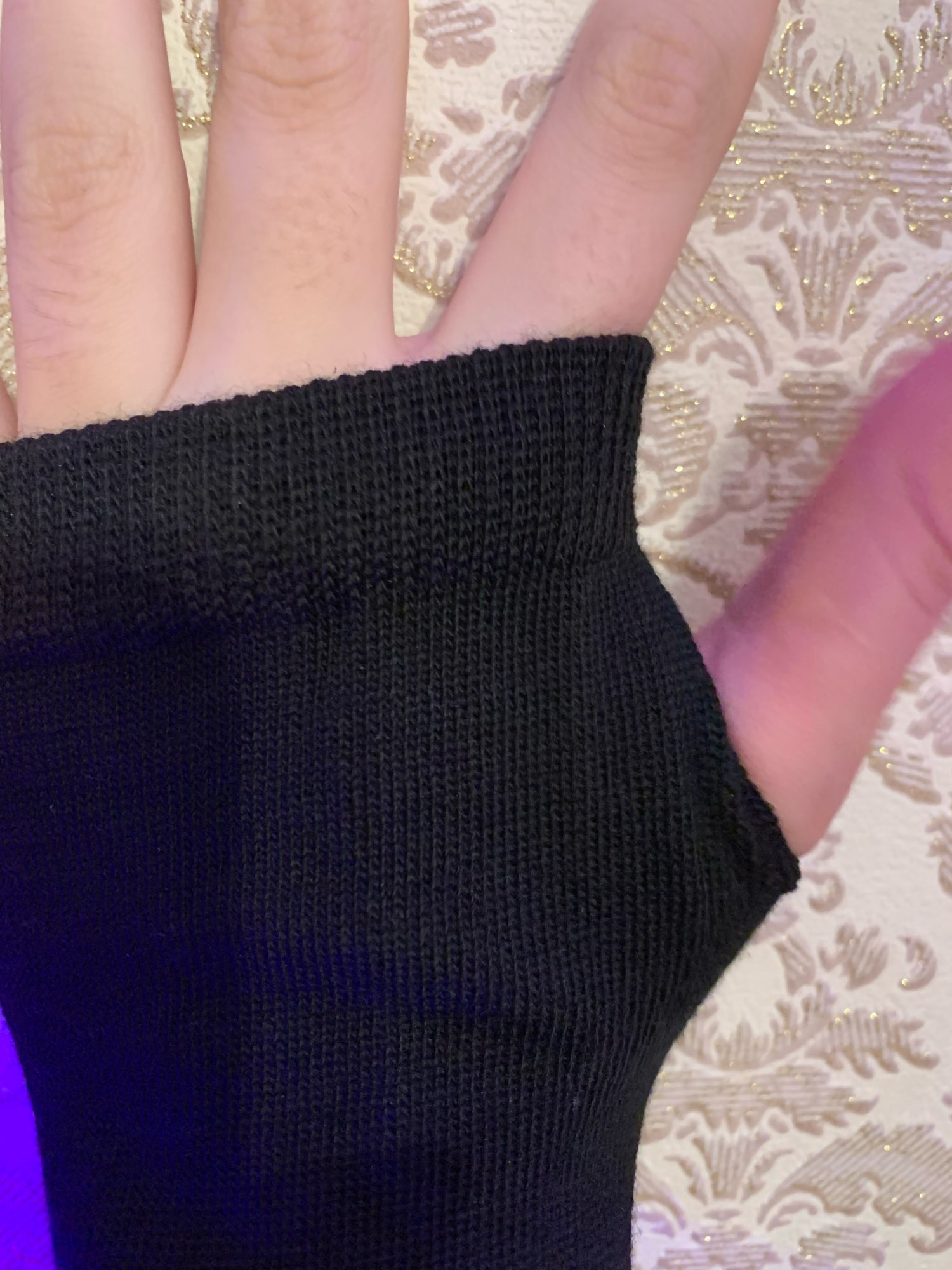 Knitted Long Fingerless Mittens photo review
