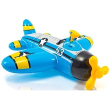 Самолет Intex 132х130 см с водным бластером от 3 лет