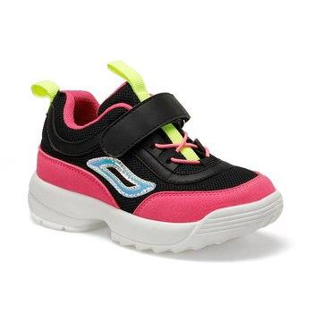 FLO Чемпион Черная женская детская прогулочная обувь I-Cool