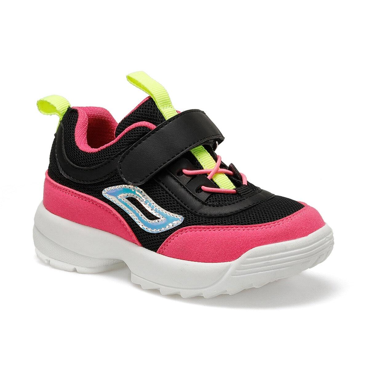 FLO Champion Black Female Child Walking Shoes I-Cool
