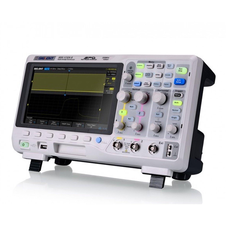 Цифровой осциллограф Siglent SDS1102x 2 канальный DSO с пропускной способностью 100 МГц, 1 GSa / s и 14 Mpts me|Генераторы сигнала|   | АлиЭкспресс
