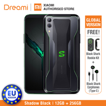 EU Version Black Shark 2 256GB Rom 12GB Ram (Brand New and Sealed Box) Original цена 2017