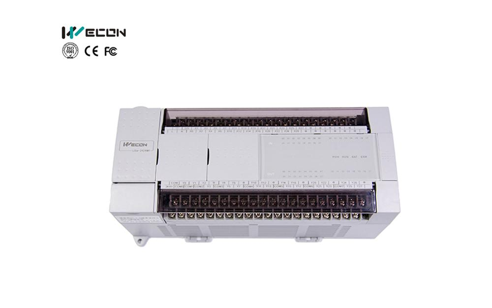WECON LX3VE 24input And 24 Transistor Output With 4 Channel High Pulse Output 48 Points Plc That Support RTU