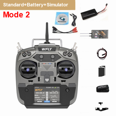 WFLY ET16 + RF209S + Simulator + Battery