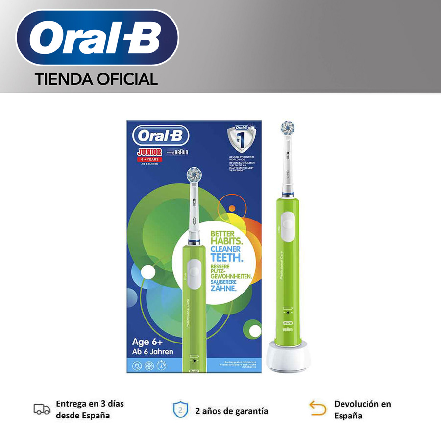 Oral-B Junior order child electrics Toothbrush beginning year 6 Filaments extrasuaves image