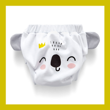 Training Pants Reusable Potty Underwear Toilet Cloth Diaper Washable Unisex Baby Pullups Blue Pink White Cartoon King Queen