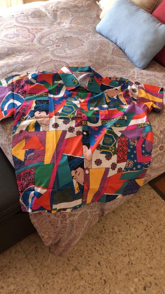 -- Japonês Casual Camisas