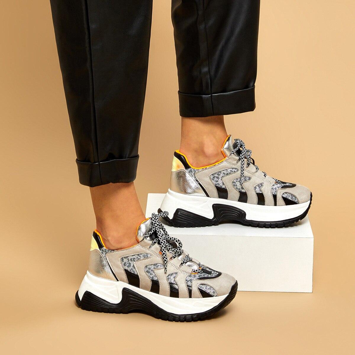 FLO MİKADO Gray Women 'S Sneaker BUTIGO
