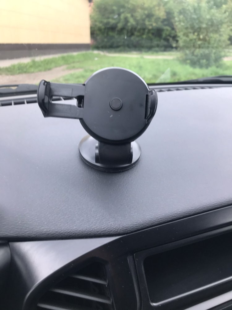 Universal Car Phone Holder with Suction Cup photo review