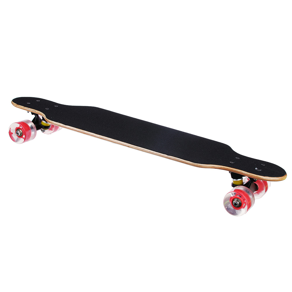 LONGBOARD SKATE SKATEBOARD, 79X21CM, 9 SL, LOAD 100 KG CONVENIENT AND STRONG STYLISH COLORFUL