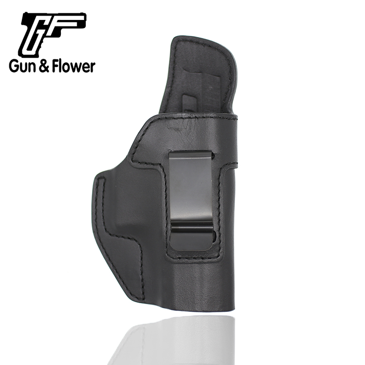 Gunflower Open Muzzle Inside The Waistband Carry CZ 75 P-07 Pistol Pouch Italy Leather Holster