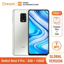 Global Version Xiaomi Redmi Note 9 Pro 6GB RAM 128GB ROM (Brand New / Sealed) redminote9pro, note9pro, Smartphone mobile