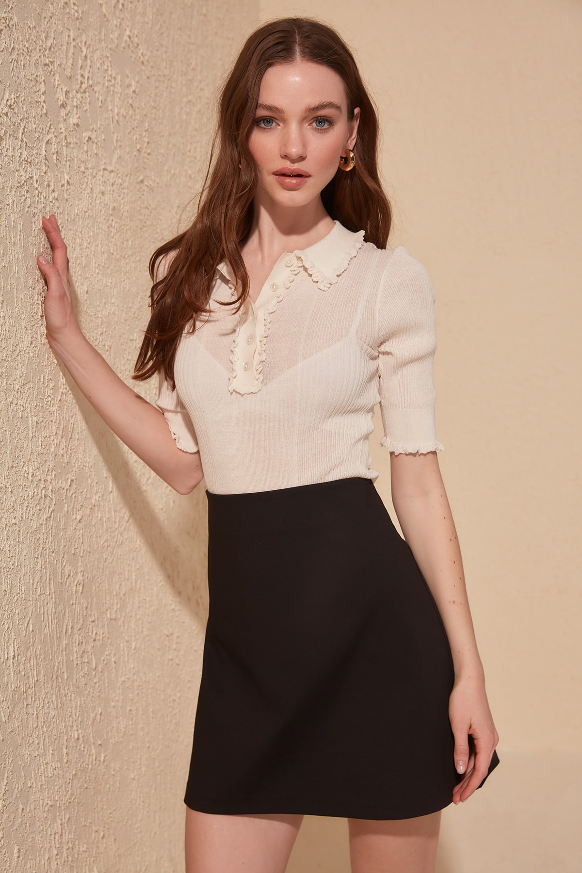Trendyol Straight Skirt TWOAW20ET0168