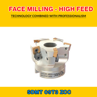 TK SDMT 09 004 ZCC FACE MILLING   HIGH FEED BMR 52X5 022 SDMT 09T312|Hob| |  -