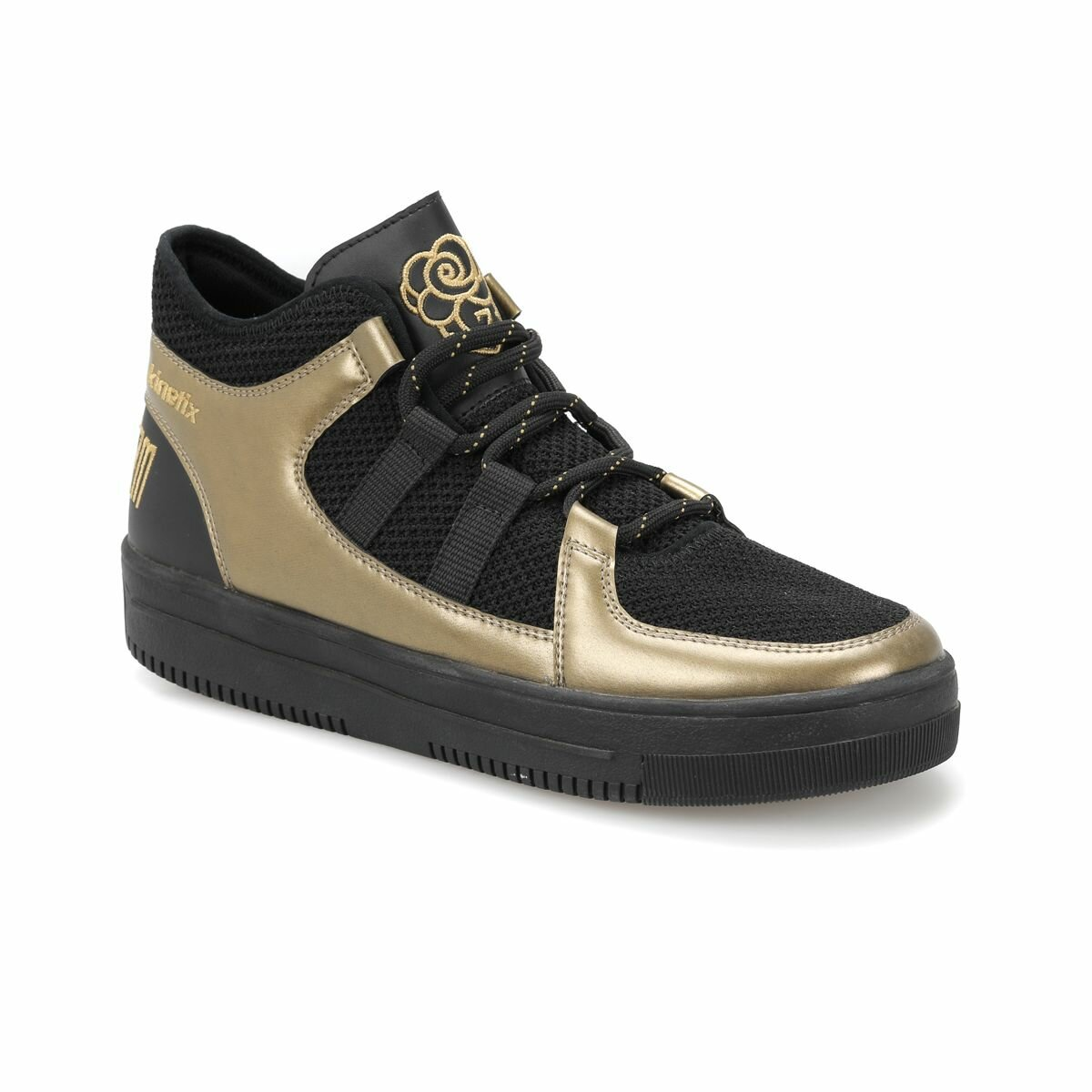 FLO GAZAPIZM Black Men 'S Sneaker Shoes KINETIX
