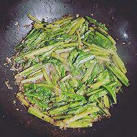 豆豉油麦菜的做法图解6