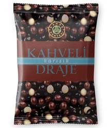 Coffee Dragee Covered with Mix Chocolate, 230gr