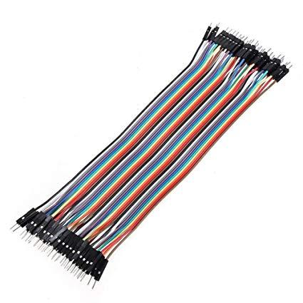 Cables Dupont Macho-Macho 20 Cm