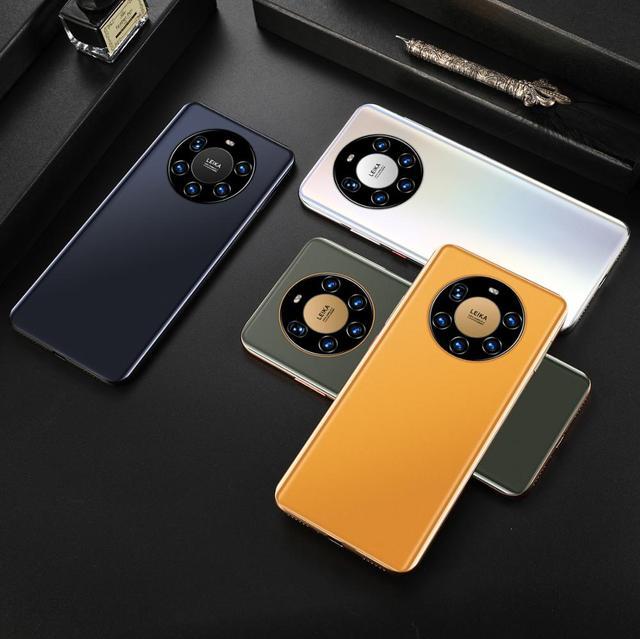 Mate40 Pro Max 7.3 pouces Smartphones Global 5G laisser téléphones portables 24 + 50MP 12 + 512GB caméra 6000mAh batterie dernière 10 Core téléphone portable