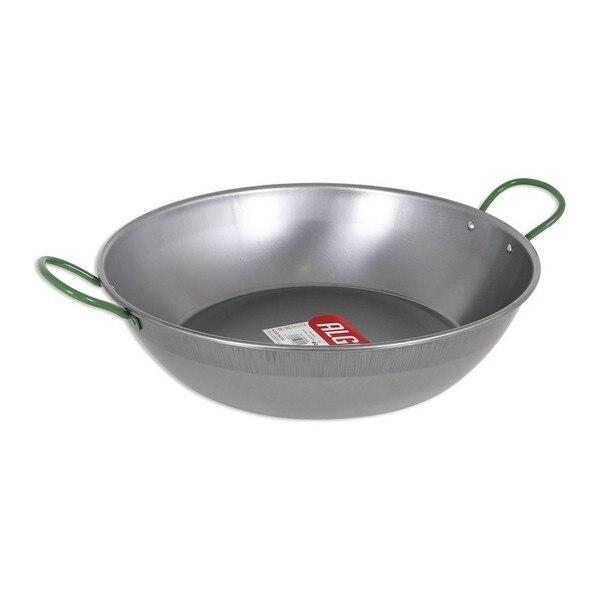 Deep Pan With Handles Algon Polished Steel