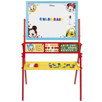 Chalkboard wood with easel Disney baby by WOOMAX