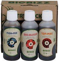 Biobizz Try (c) Pack - Paquete al aire libre ( Fish Mix , Bio-Bloom , Top-Max ) Perfecto para jardineros orgánicos envió 24-48hr