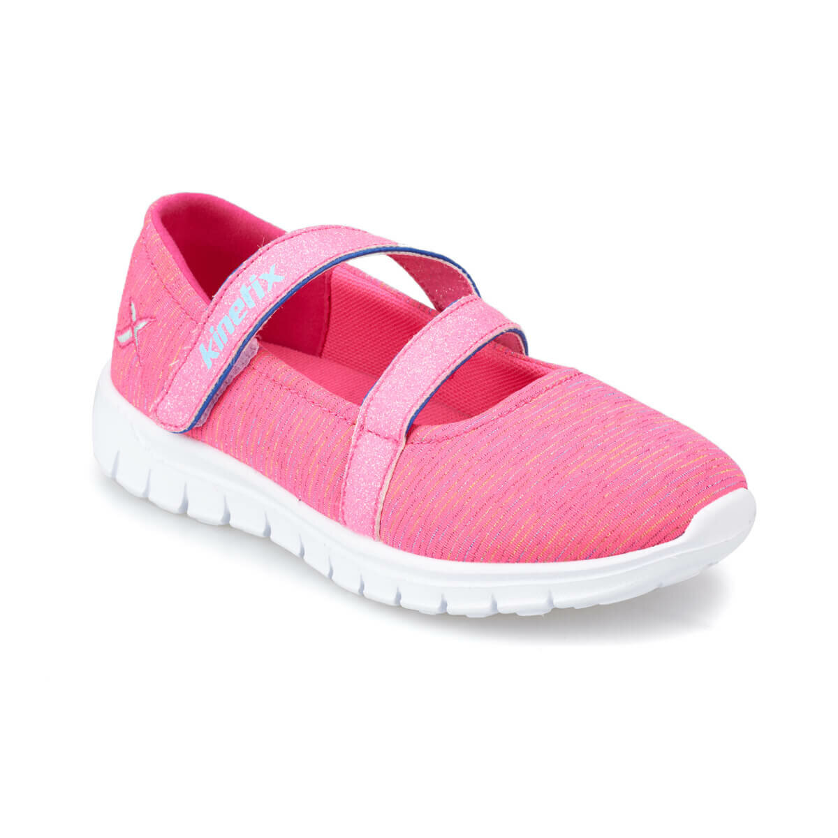 FLO LESTER Neon Pink Female Child Walking Shoes KINETIX
