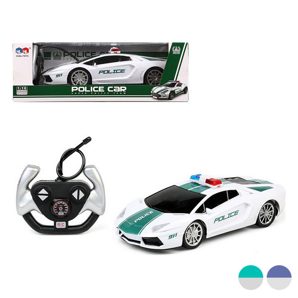 Remote-Controlled Car Police 111711