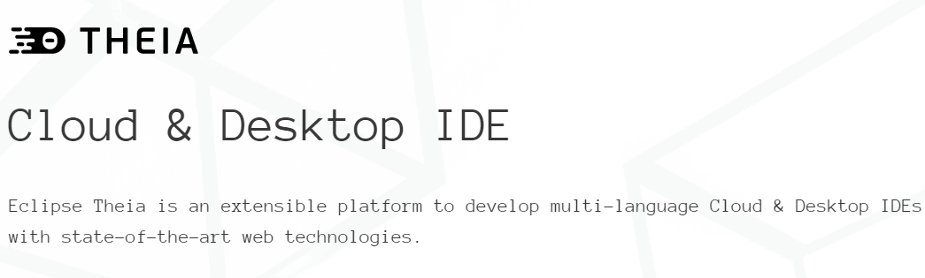 Eclipse Theia 1.0 稳定版发布,VS Code真正的开源替代方案