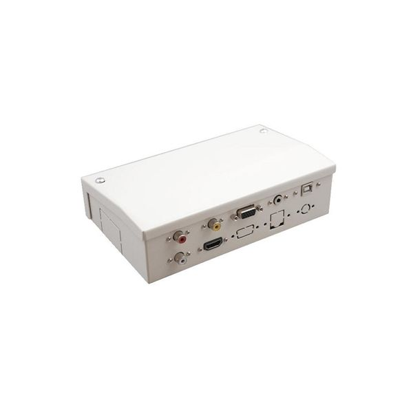 Connection Box for an Interactive Whiteboard Traulux AAYAPR0097 TS1770001HN HDMI VGA 3,5 mm White