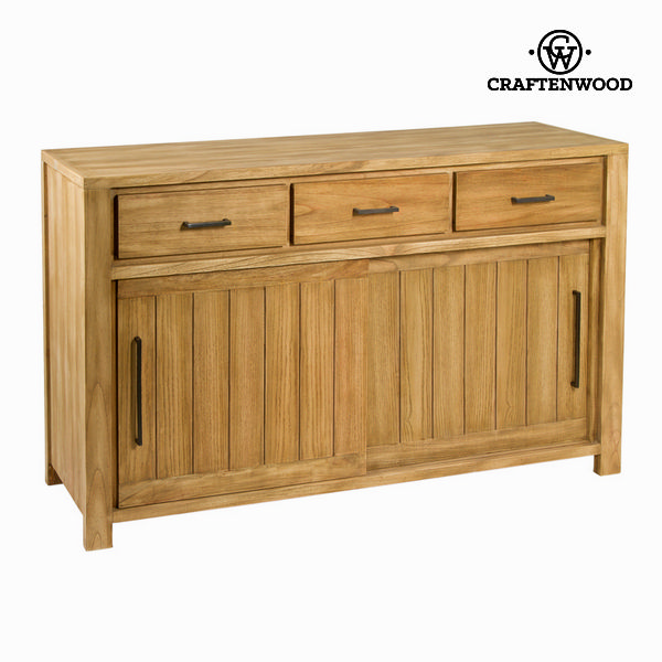 Sideboard Mindi Wood (160 X 40 X 90 Cm) - Square Collection By Craftenwood