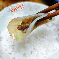 #太太乐鲜鸡汁芝麻香油#汤汁萝卜包肉卷的做法图解11