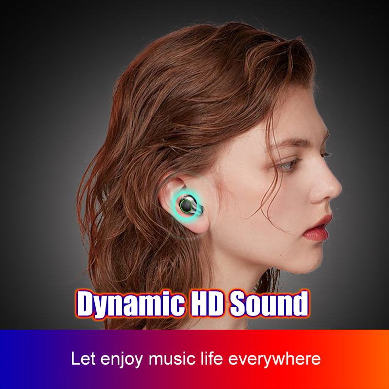lowest price QCY QS2 TWS Bluetooth V5 0 Headset Sports Wireless Earphones 3D Stereo headphones  Mini in Ear Dual Microphone With Charging box