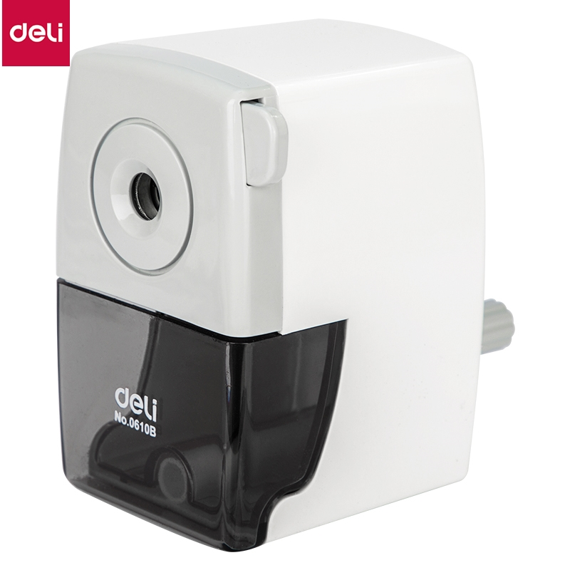 DELI 0610B Rotary pencil sharpener pencil cutter Office School sharpener knife smooth sharpening school accessories stationery Pencil Sharpeners    - AliExpress