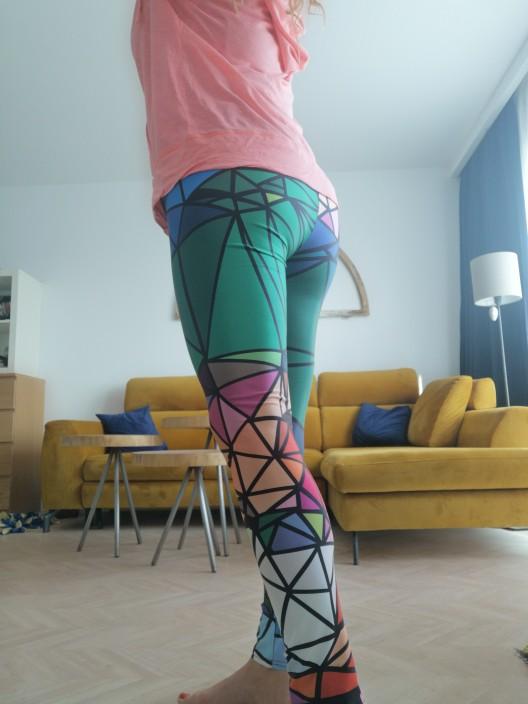 Qickitout Leggings Sample Women's Diamond Color Stitching Leggings Digital Print Pants Trousers Stretch Pants Plus Size DropShip stitch leggings leggings plusplus leggings - AliExpress