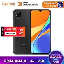 Xiaomi Redmi 9C 64GB 3GB LTE/GSM Adaptive Fast Charge Bluetooth 5.0 Octa Core Fingerprint Recognition