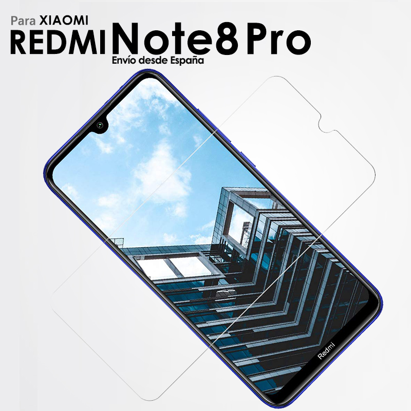 Full Tempered Glass Screen Protector for Xiaomi Redmi Note 8 Pro Security Glass Protection for Smartphone 3