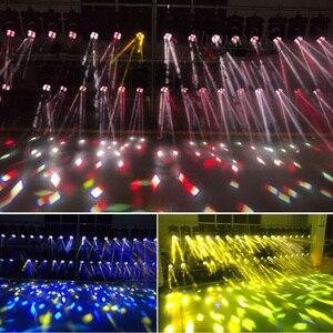 Image 3 - Dmxパーティーライトスーパービーム4 × 25ワットled移動ヘッドライトステージプロの照明2ピース/ロット