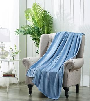 PimpamTex-velvet-touch sofa decorative blanket, super soft and warm for bed, smooth models