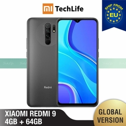 Global Version Xiaomi Redmi 9 64GB ROM 4GB RAM (Brand New / Sealed) redmi9, redmi9 64, Smartphone, mobile, telephone